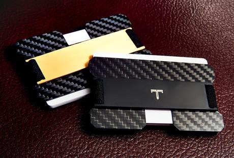 RFID Blocking Titanium Wallet