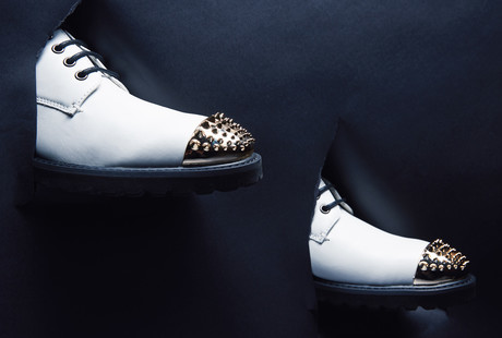 Style-Savvy Leather Shoes