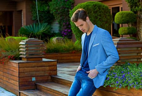 Casual Button-Ups + Blazers
