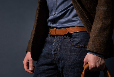 Leather Belts + Accessories
