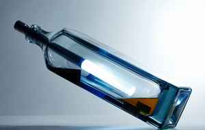 From Wine Bottle to Lamp
