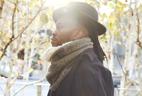 Sustainable Cowl Neck Scarves