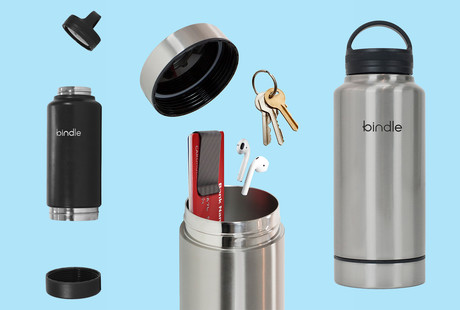 Insulated Water Bottle With Storage