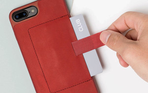 Leather Card-Carrying Phone Cases