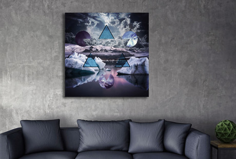 Contemporary Nature Inspired Wall Art