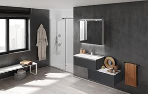 Contemporary Mirror & Cabinet Sets