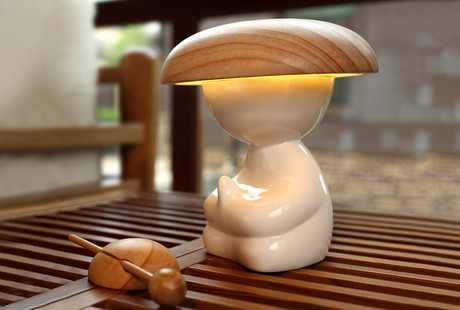The Smart Monk Lamp & Air Purifier
