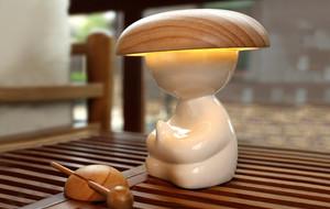 The Smart Monk Lamp & Air Purifier