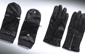 Luxury Leather Touchscreen Gloves