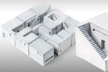 Miniature Concrete Homes