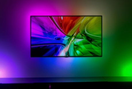 Responsive LED Television Backlighting