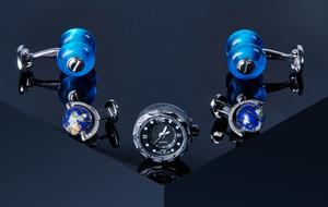 Luxury Cufflinks, Pins, + Accessories