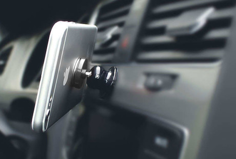 World's Smallest Smartphone Car Mounts
