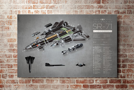 Exploded View & Typography Prints