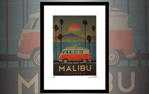 Signed Vintage Travel Prints