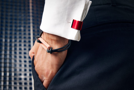 Contemporary Cufflinks + Bracelets