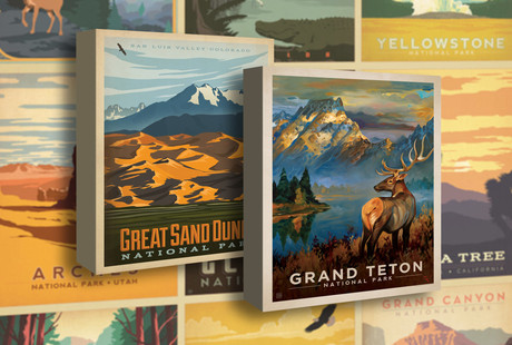 Art Prints Of National Parks
