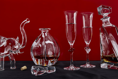 Luxury European Glassware + Barware