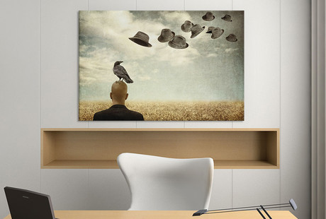 Surrealist Art on Canvas