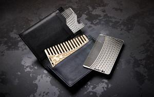 Portable Wallet Combs