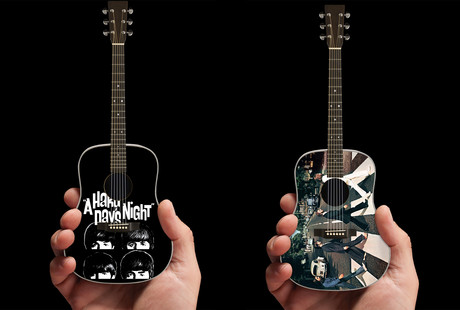 Licensed Miniature Handcrafted Guitars