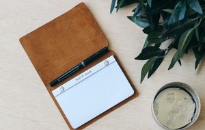 Rugged, Leather Covered Notebooks