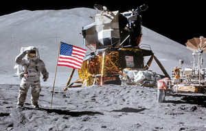 Stunning Lunar Photos By NASA Astronauts
