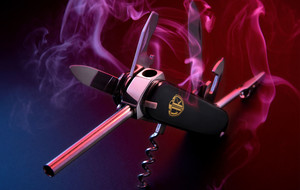Innovative Smoking Knife