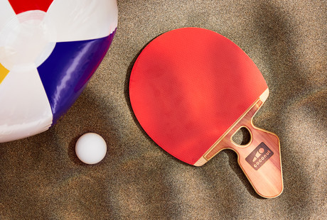 Hand-Crafted Table Tennis Paddles