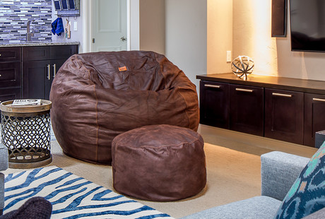 The Bean Bag with a Bed Inside