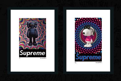 Offbeat Street Art Style Prints