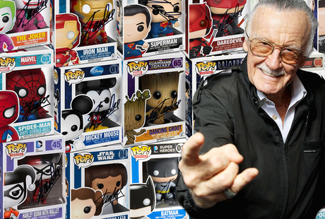 Funko POP! Figures Signed By Stan Lee