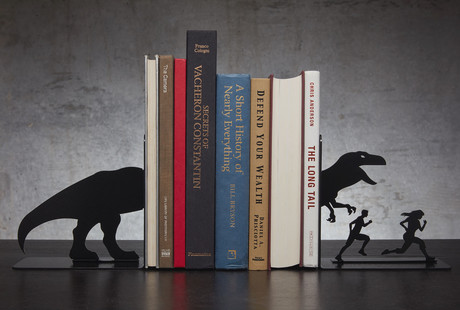 Whimsical Metal Bookends