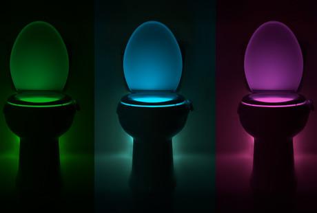 The LED Toilet Bowl Nightlight