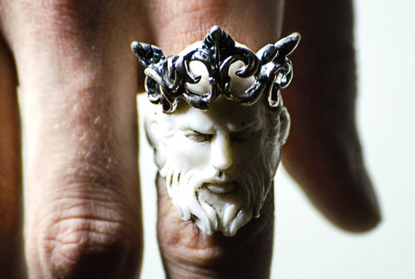 Medieval Gothic Rings & Jewelry