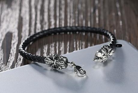 Rugged Leather Bracelets