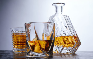 Crystal Decanter Sets & Glassware
