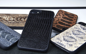 Elegant + Exotic Leather iPhone Cases