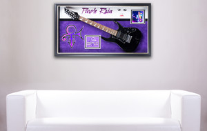 Signed + Framed Music Displays