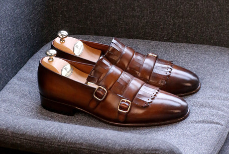 Handcrafted Exotic Leather Shoes