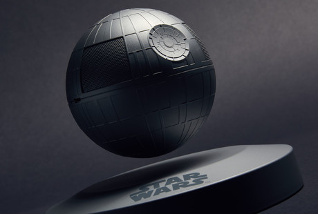 The Levitating Death Star Speaker