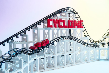 LEGO Roller Coaster DIY Models