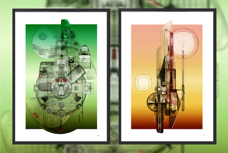 Outlandish Star Wars Art Pieces