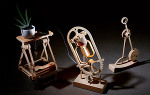 Outrageous Kinetic Wood Furnishings