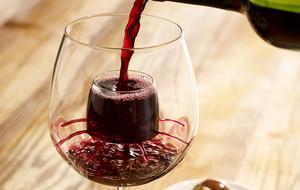 Self-Aerating Wine Glasses