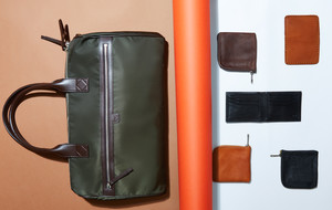 Leather Travel Bags & Wallets