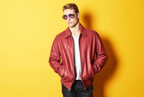 Luxury Leather Moto & Bomber Jackets