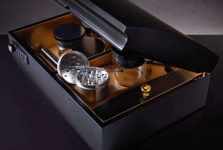 Luxury Cannabis Humidor