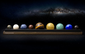 A Handcrafted Solar System For Your Desk