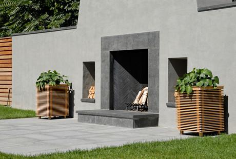 Seamless Outdoor Speaker Planters